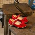 Конфеты Цвет Детей Обувь для Девочек Принцесса Обувь Модные Девушки Сандалии Дети Обувь Одного Летние Новых Девушек Сандалии