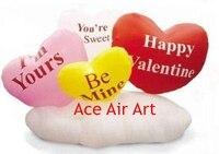 Bán nóng Tùy Chỉnh Airblown Valentines đối với Đảng Decorations