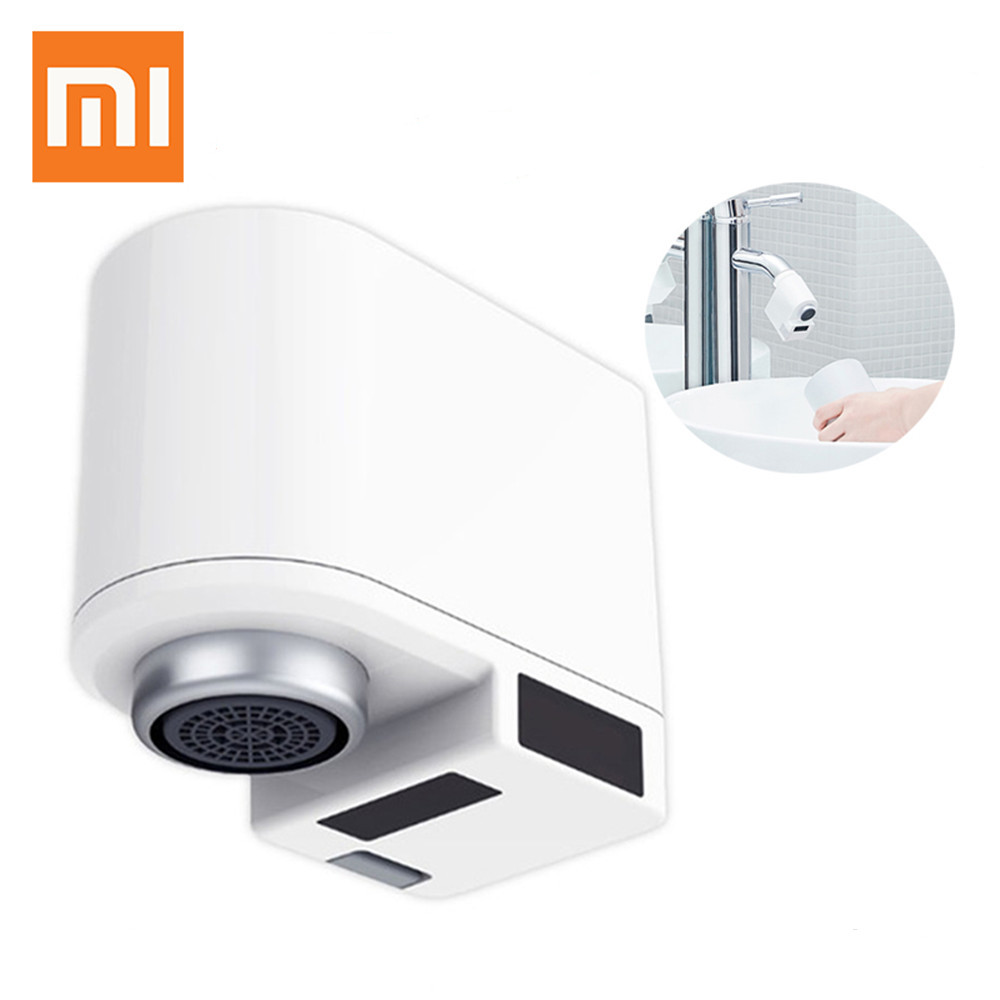 Original Xiaomi Xiaoda Automatic Water Saver Tap Smart Faucet Sensor Infrared Water Energy Saving Device Kitchen Nozzle Tap