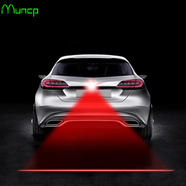 Muncp Car Tail Laser Fog Lamp Safety Warning Lights For Mazda 2 3 5