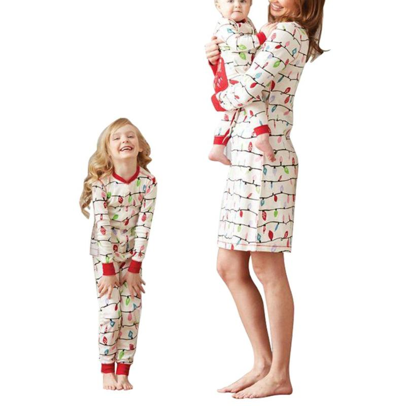 family christmas pajama family matching clothes matching mother daughter clothes mother dress romper t shirt pants family look