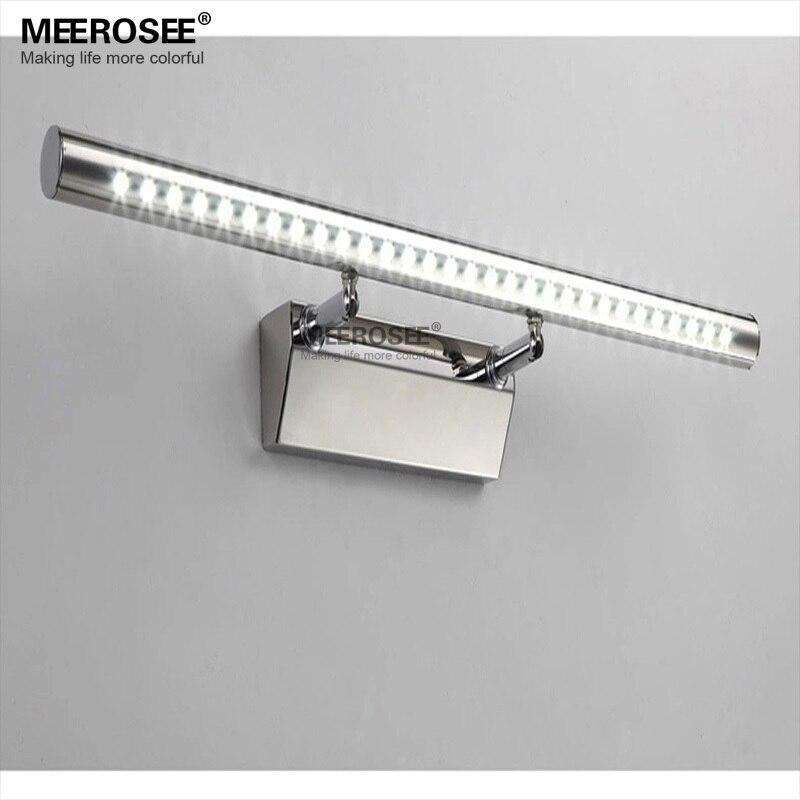 comprar envo rpido led de pared de luz espejo del bao lmpara de pared de acrlico moderna lustre para vestidor pared led lampada
