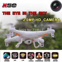 Syma X5C RC Drone With 2MP HD Camera Remote Control Flying Quadcopter Helicopter 2 4G 4CH
