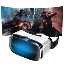 VR Box 3D Headset Cardboard Virtual Reality Goggles Glasses For Smartphone 4.5-6.3″360 Degree 3D Viewing Immersive Experience