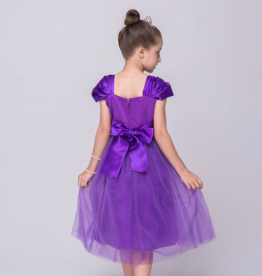 Partido de Malla Vestido de Diseñador de Los Niños Del Desgaste Del ...