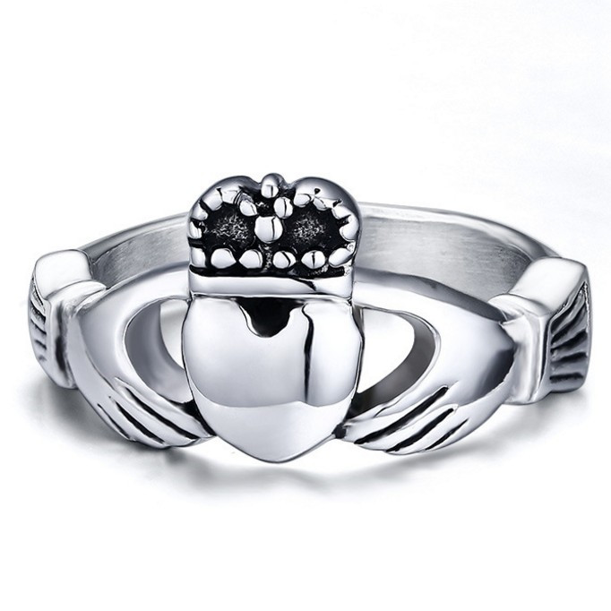 traditional irish wedding ring ring symbolizes love heart ring stainless steel ringchina mainland