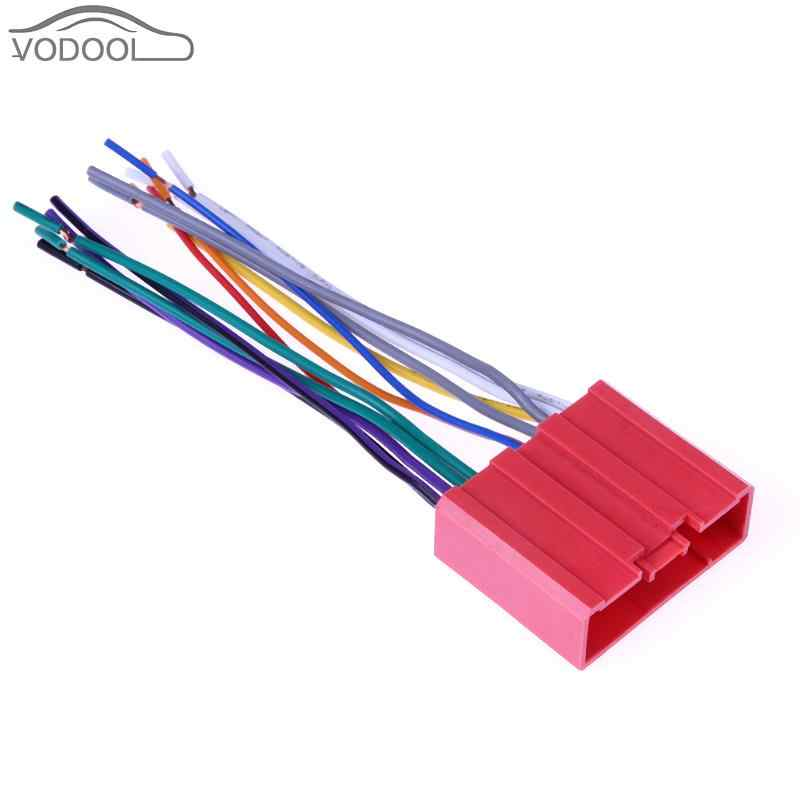 13cm Car Stereo CD Player Radio Wiring Harness Cable Adapter ... Harness Wires In A Car on