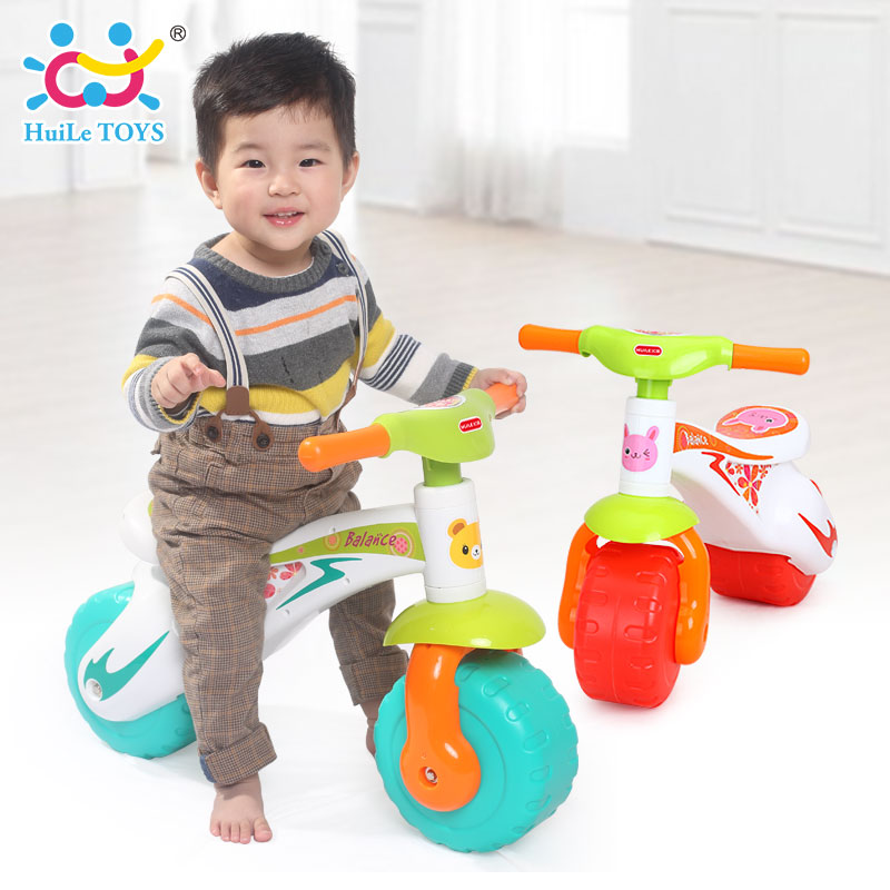 Toddler Toys Physical Toys : Huile toys toddlers ride on step balance bike