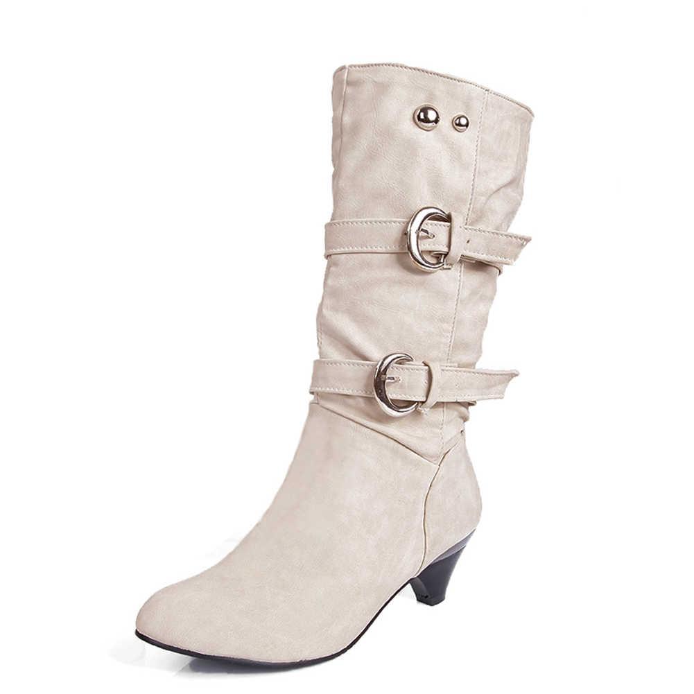 2019 г.; Прямая поставка; большой размер 43; высококачественные ботинки в ретро-русском стиле на каблуке; женская обувь; зимняя обувь на меху; женские ботинки