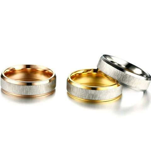 Модные матовые готовые кольца для женщин 6 мм простые розового