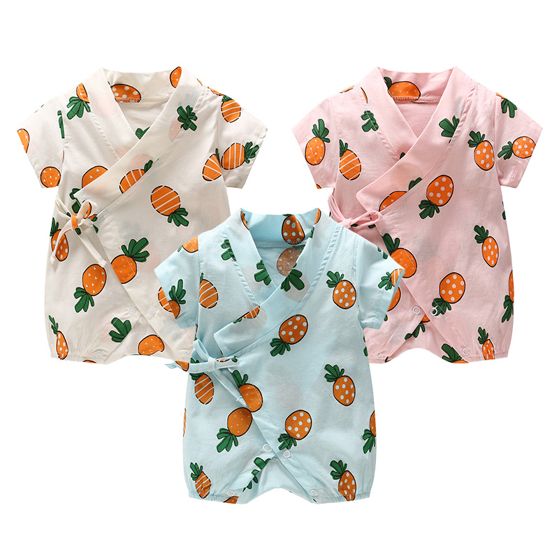 2018 Baby Onesies Clothes Casual Clothes Pineapple Model Childrens Clothing Clothes Dress