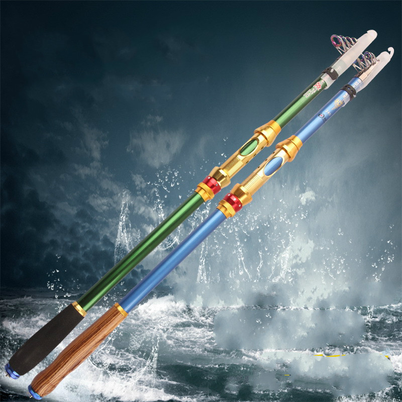 Super Hard XH Power Carbon 1.8M 2.1M 2.4M 2.7M 3.0M Portable Telescopic Fishing Rod Spinning Fish Hand Fishing Tackle super hard strong 2 1 2 4 2 7 3 0 3 6m power xh carbon telescopic fishing rod