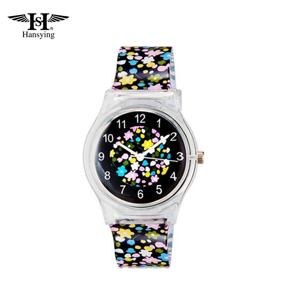 Hansying Mini Student's Kid's Flowers Analog Quartz Wrist - Jam tangan anak anak - Foto 2