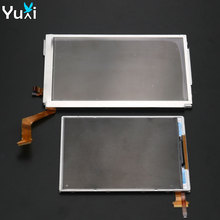 YuXi Replacement For Nintendo New 3DS XL LL Top Upper / Bottom Lower LCD Display Screen стоимость