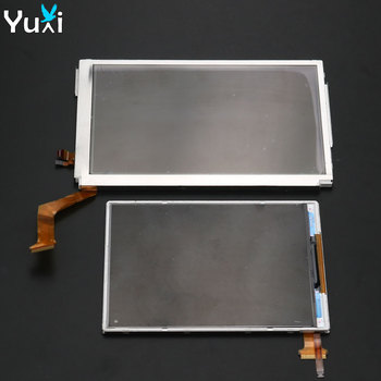 YuXi Replacement For Nintendo New 3DS XL LL Top Upper / Bottom Lower LCD Display Screen