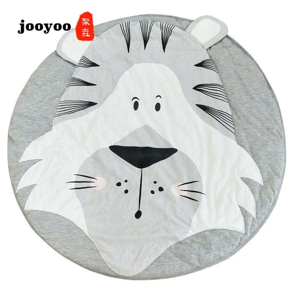 Animaux série enfants ramper haute qualité bébé jeu tapis escalade ramper tapis de jeu jooyoo