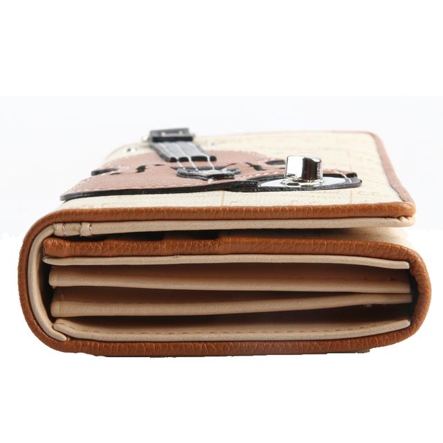 2016 New Women Wallets Famous Brand Design Wallets Lovely Ladies Purses,Hasp Long Clutch Wallets,3D Guitar Coin Purses For Women