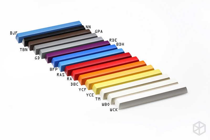 Sp фирменный пластиковый sa профиль spacebar 6.25u 7u для mx stem механическая клавиатура abs keycap для gh60 87 tkl xd64 104 ansi xd96