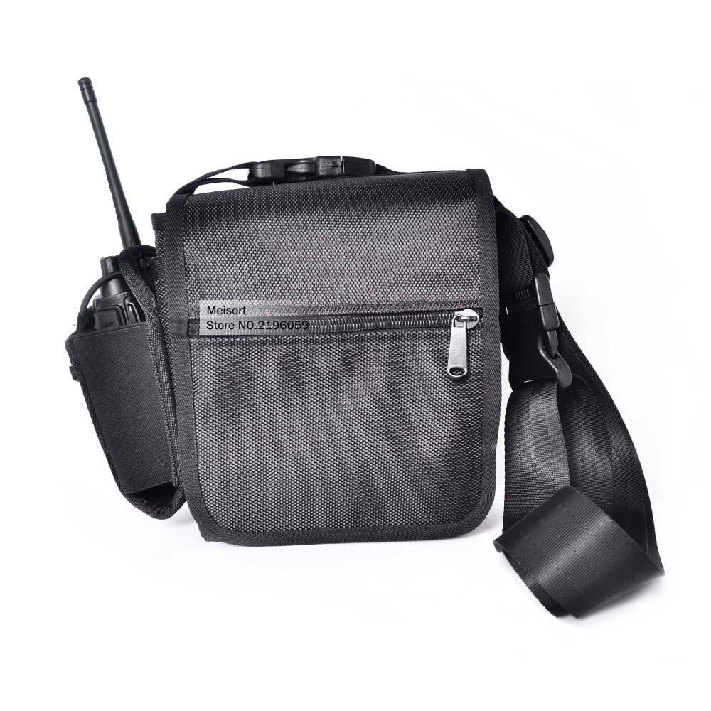 Walkie Talkie Radio Chest Pocket Pack Backpack Holder Case ...