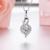Joyería de moda Collar De Plata 925 Collar Colgante de Plata para Las Mujeres Gota de agua de Lujo Baile Cubic Zirconia 2017 Nuevo