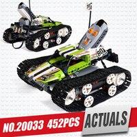 Lepin 20033 397 adet yeni Teknik Serisi RC Parça Uzaktan-kontrol Yarış Araba Seti Eğitim Yapı Taşları Tuğla oyuncaklar 42065