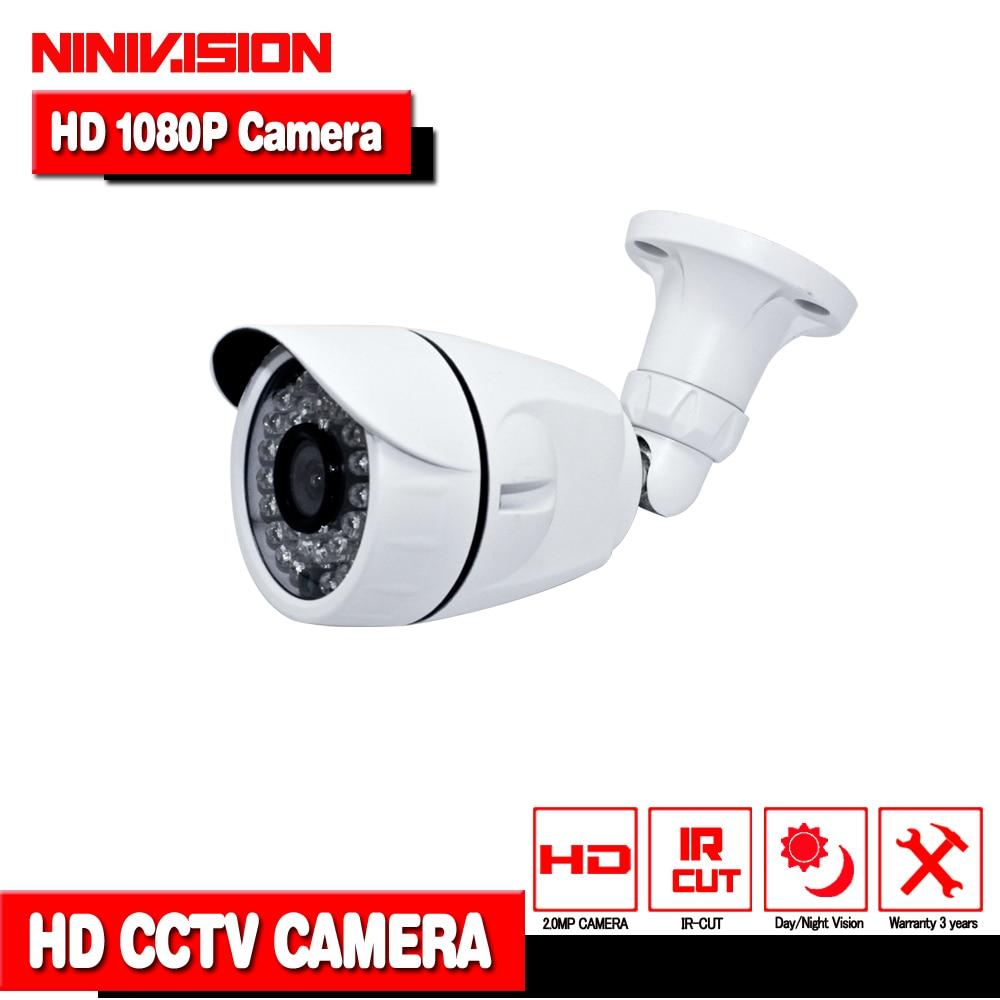 New! Full HD 1920*1080 AHDH 1080P CCTV Security 2000TVL AHDH Camera HD 2MP Night Vision Outdoor Waterproof Camera IR Cut Filter