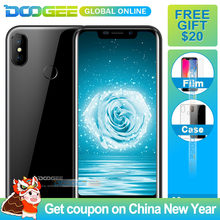 Fast shipping on New Year DOOGEE X70 Big batter 4000mAh Smartphone MTK6580A 2GB 16GB Android 8.1 5.5 Inch 19:9 Mobile Phone(China)