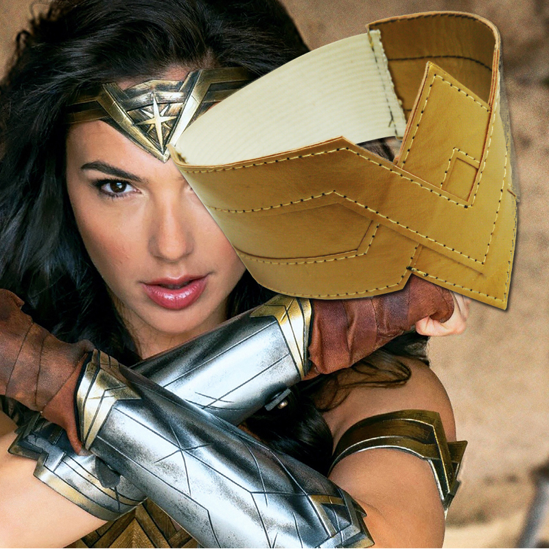 Cosplaydiy Movie Wonder Woman Diana Prince Cosplay Arm Props Adult Women Wonder Woman Cosplay Costume Props Accessories L0516
