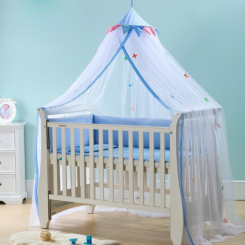 Luxurybaby toddler infant children crib mosquito net for Baby crib net