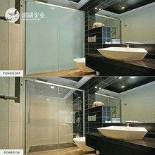 87,5x105,5 см белая электрическая самоклеящаяся PDLC пленка Smart на стекло Окно Дверь тонированная умная пленка