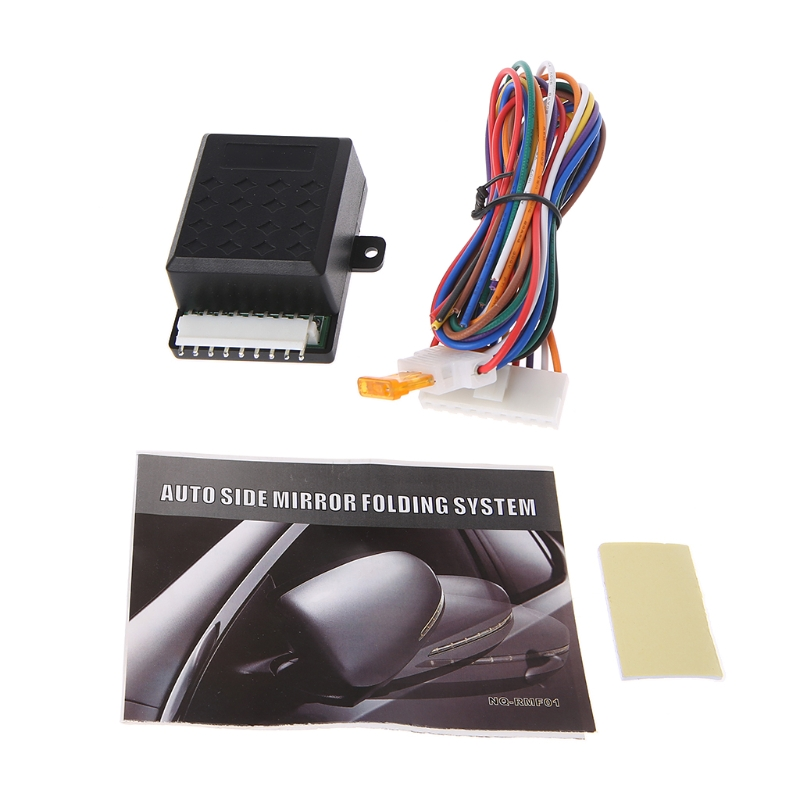 Car-Styling Car Side Mirror Folding System Universal Auto Side Mirror Folding Kit Automobiles Mirror Covers Parts