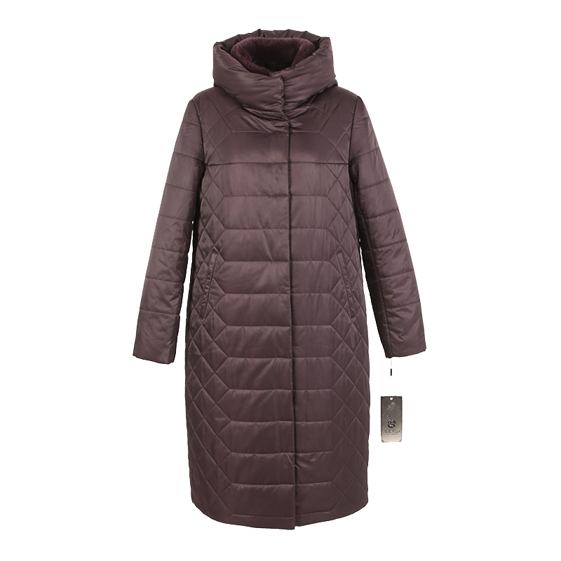 women winter long coat   parka   jacket rabbit fur detachable collar hooded High quality material plus size 7XL 6XL 8XL 64 7-28370 D