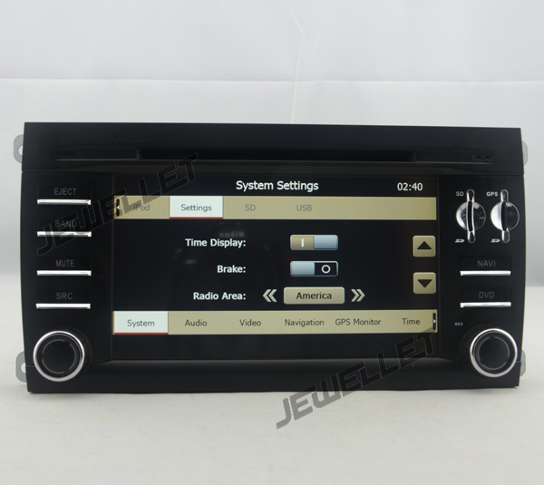 Car DVD GPS radio Navigation for Porsche Cayenne 2002-2010 with Bluetooth, PIP, DVD and GPS radio map