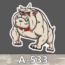 A-533 Ein Mops Hund Wasserdichte Kühle DIY Aufkleber Für Laptop Gepäck Skateboard Kühlschrank Auto Graffiti Cartoon Aufkleber