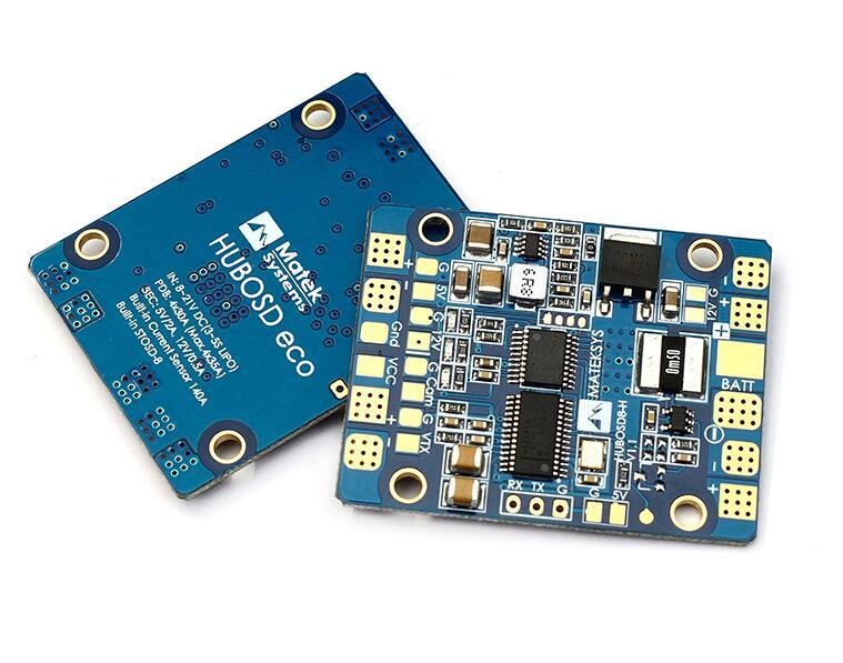 Matek HUBOSD Eco H-Type 5V/12V Current sensor 140A STOSD8