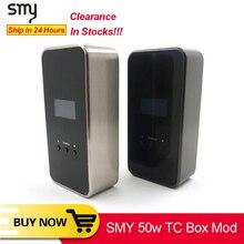 [Clearance] Original SMY 50 TC Box Mod for IJoy RDTA plus Tank electronic cigarette vape mod VS squonk minifit KOOPOR MINI Mod