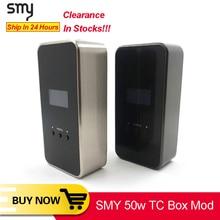[Ликвидация] Оригинальный боксмод SMY 50 TC для IJoy RDTA plus, бак, электронная сигарета, вейп мод VS squonk minifit KOOPOR MINI Mod