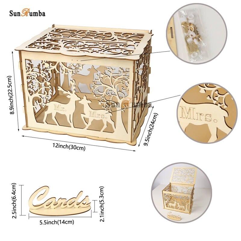 Wedding card box MUW-328-10