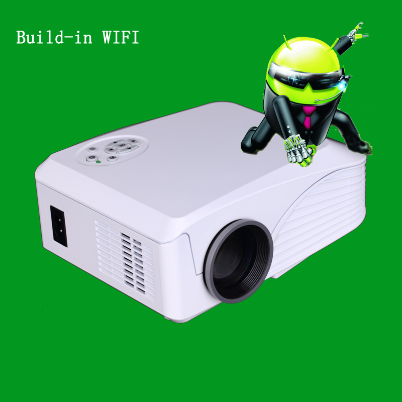 Manufactory Best mini Projector LED Projector Children small Gift LCD Projector for home Theater Wireless WIFI