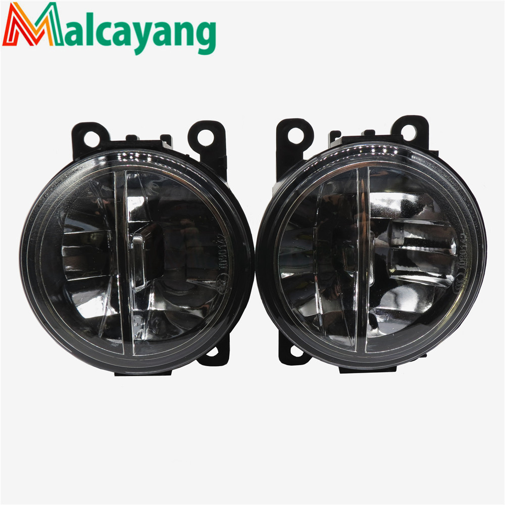 1set Car-styling LED fog lamps10W high brightness lights For Mitsubishi OUTLANDER 2 PAJERO 4 L200 Grandis 2003-2016 for lexus rx gyl1 ggl15 agl10 450h awd 350 awd 2008 2013 car styling led fog lights high brightness fog lamps 1set