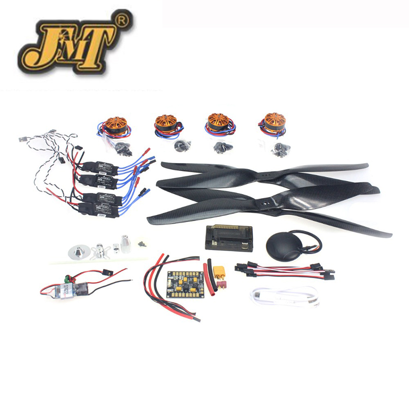 JMT RC HexaCopter Aircraft Electronic:700KV Brushless Motor 30A ESC BEC 1555 Propeller GPS APM2.8 Flight Control rc hexacopter six axis aircraft electronic 700kv brushless motor 30a esc 1255 propeller gps apm2 8 flight control f15276 a