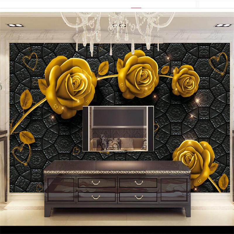 beibehang papier peint wallpaper for walls 3 d custom. Black Bedroom Furniture Sets. Home Design Ideas