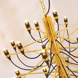Image 5 - Jmmxiuz Modern home decorationa lamps 18/30/50 gold / silver Gino sarfaitti designed chandeliaer dining room light the room