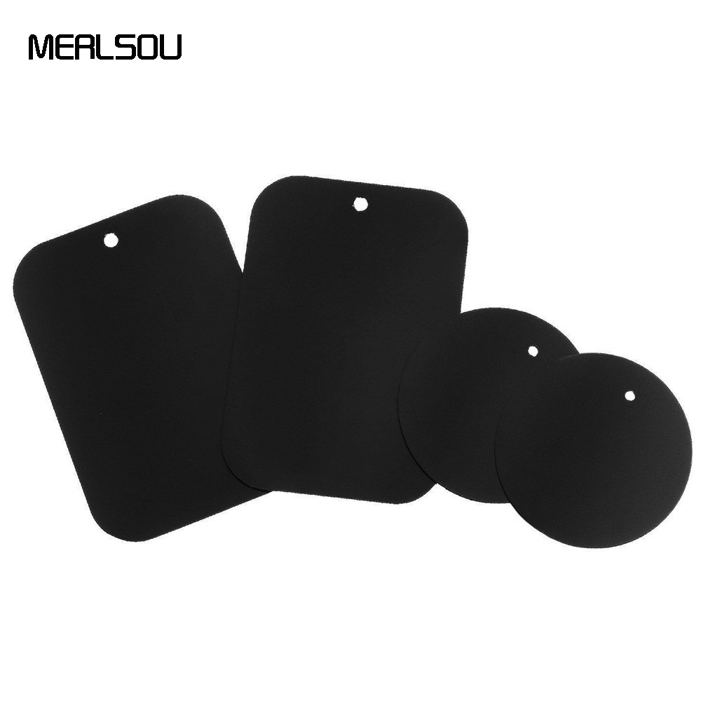 Replacement Metal Plate Sheet with Adhesive For Universal Car Phone Magnetic Mount For Car Magnetic Phone Holder Dock