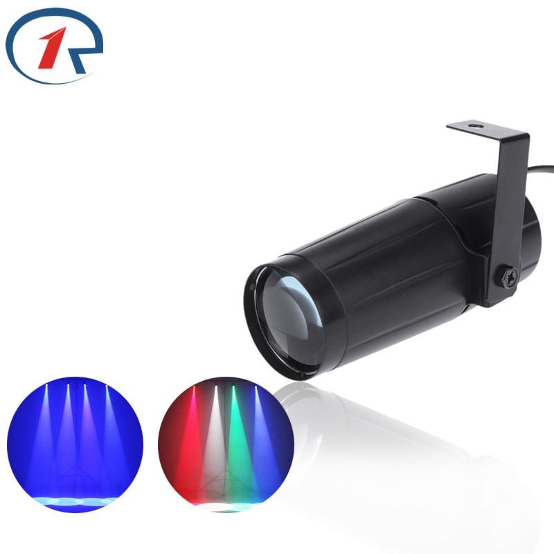 ZjRight 5W Czarna cylindryczna wiązka Światła sceniczne RGBWYP 6 kolorów LED Lampy sufitowe Mocne reflektory Bar lampy DJ ktv oświetlenie imprezowe