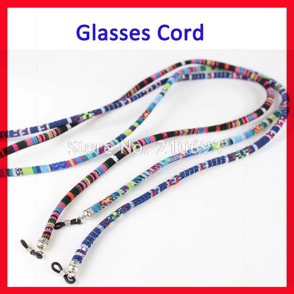 Free Shipping 1pc Cotton Eyewear Spectacle Sun Glasses Neck Cord Sunglasses Chain Strap Sports Eyeglasses Cord Anti Slip