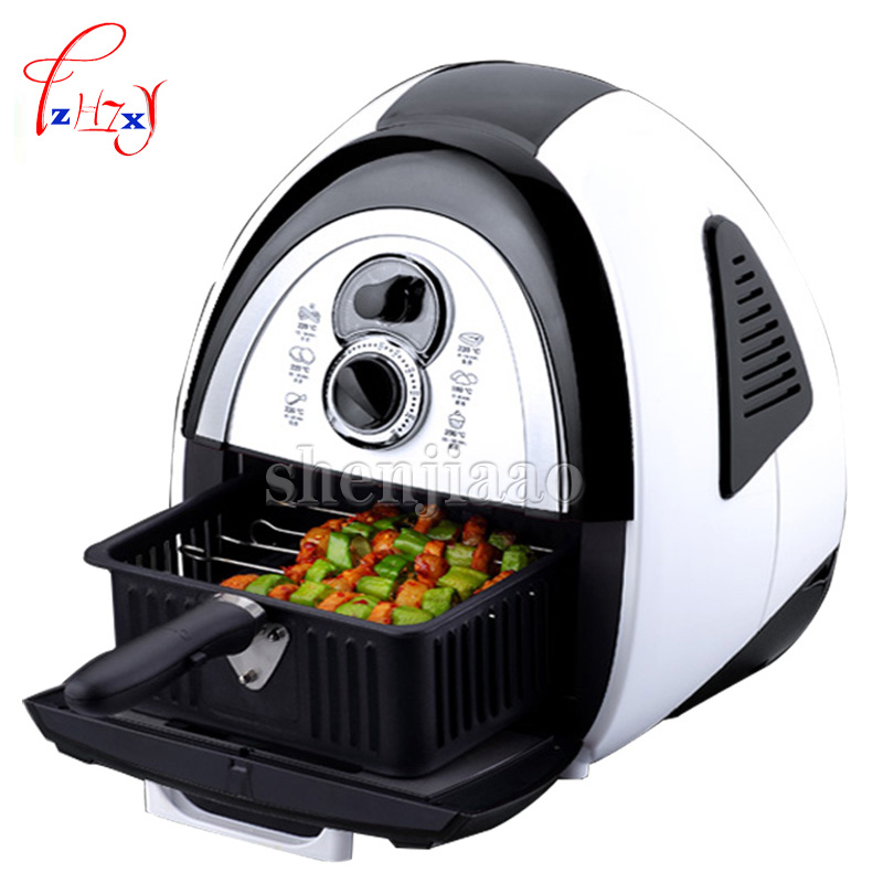 220v 1400w Home Healthy Oil Less Household 4.5L Electric Air Deep Fryer Smart Frying Machine AF-100 Air Fryer 220v 2 6l electric deep fryer household air fryer oil free and smokeless intelligent french fries machine
