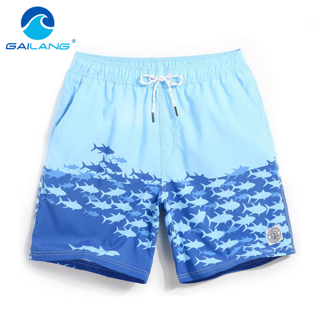 GAILANG Brand Swimwear Swimsuits Mens Beach Boardshorts Active Men Jogger Bermudas Boxers Gay Trunks Man Short Bottoms Quick Dry