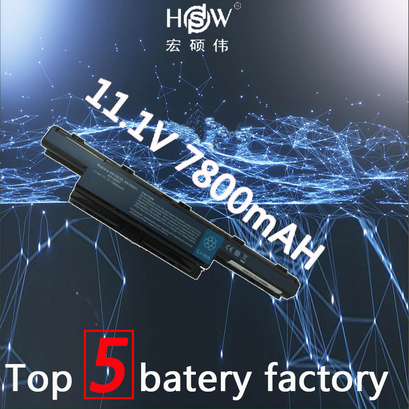 купить HSW Laptop Battery for Acer Aspire 5336 5342 5349 5551 5560G 5733 5733Z 5741 5742G 5742Z 5742ZG 5749 5750 5750G 5755 5755G по цене 1873.33 рублей