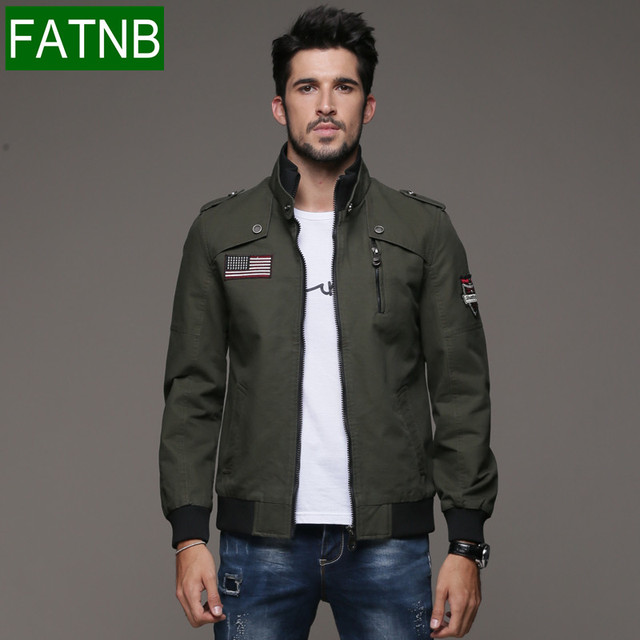 Brand Military Jacket Men New Fashion 2016 Autumn Army Air Force ...